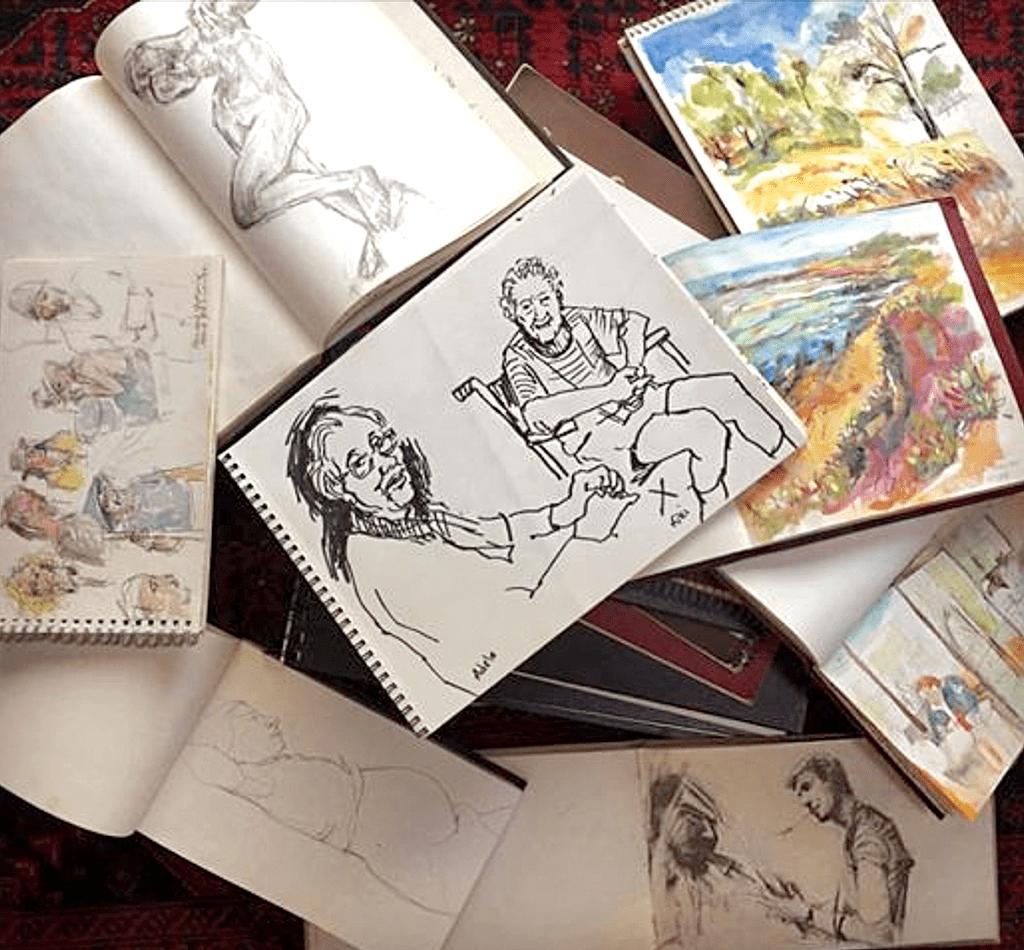 sketchbooks image