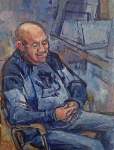 Portrait of Harold my dad