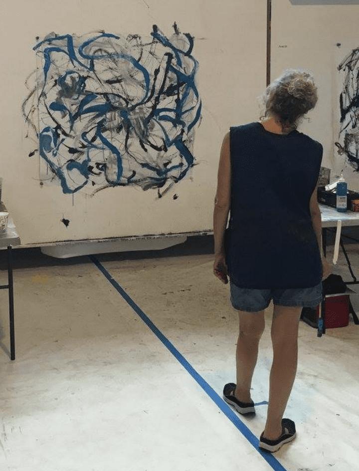 examining my art