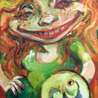 Linda, oil on canvas, 24x16