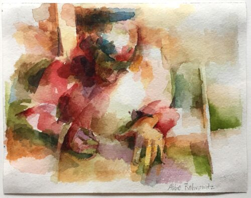 Paul, watercolor, 4x5