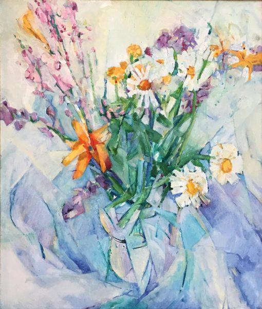"""Crazy Daisy,oil on canvas, 24""""x20"""""""