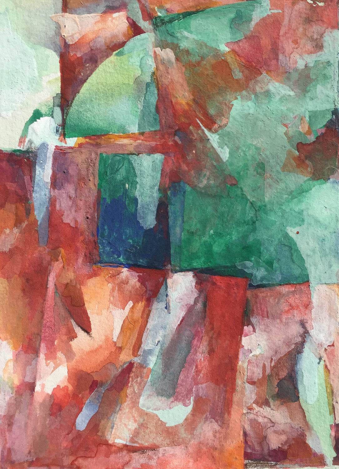 Abstract small scale paintings