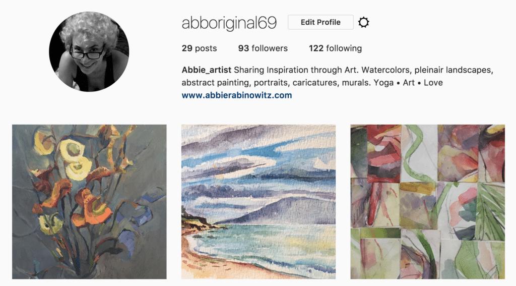 Instagram screengrab