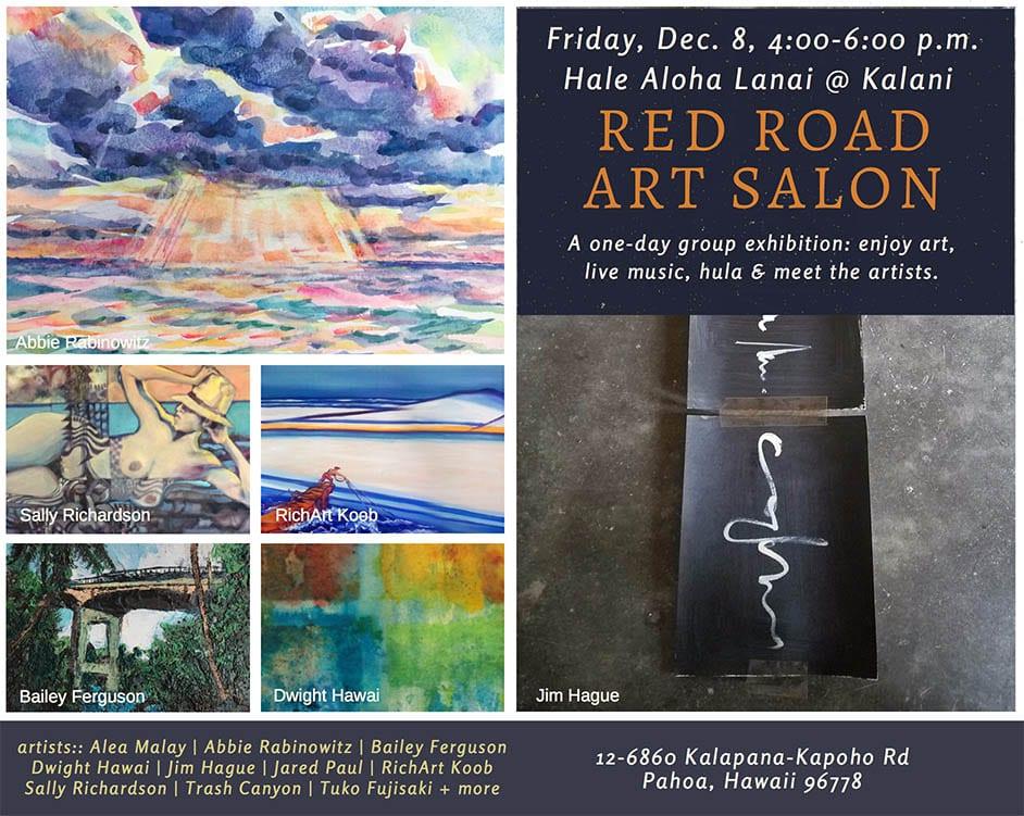 Kalani art show invite