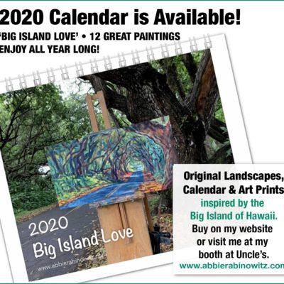 2020 Calendar image