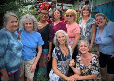 Group photo at Hawaii Painting Retreat 2020