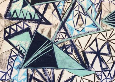 Lisa geometric painting