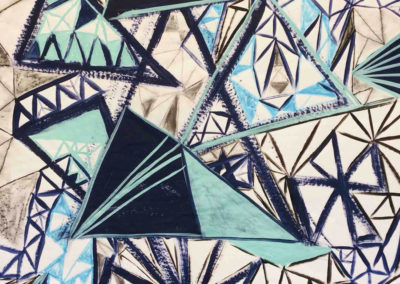 Lisa Tousignant: repetitive shape