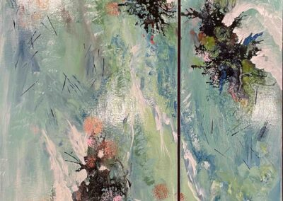 Lisa Tousignant: diptych