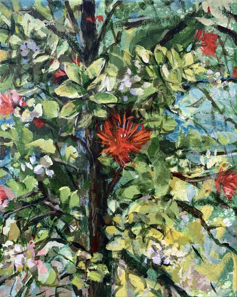 Ohia and Lehua painting