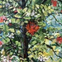 Ohia Lehua painting
